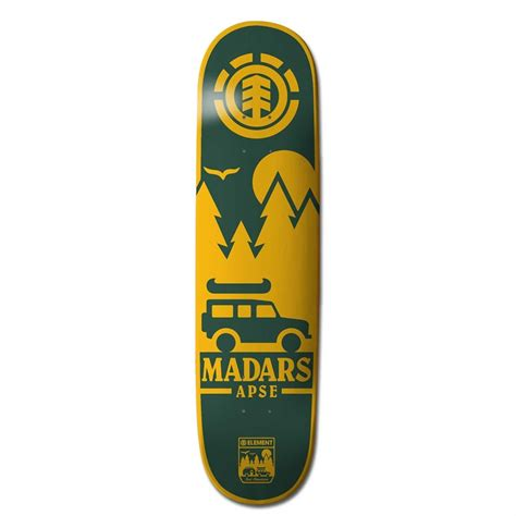 element skateboard decks 825 element madars patch 8 25 skateboard deck evo outlet