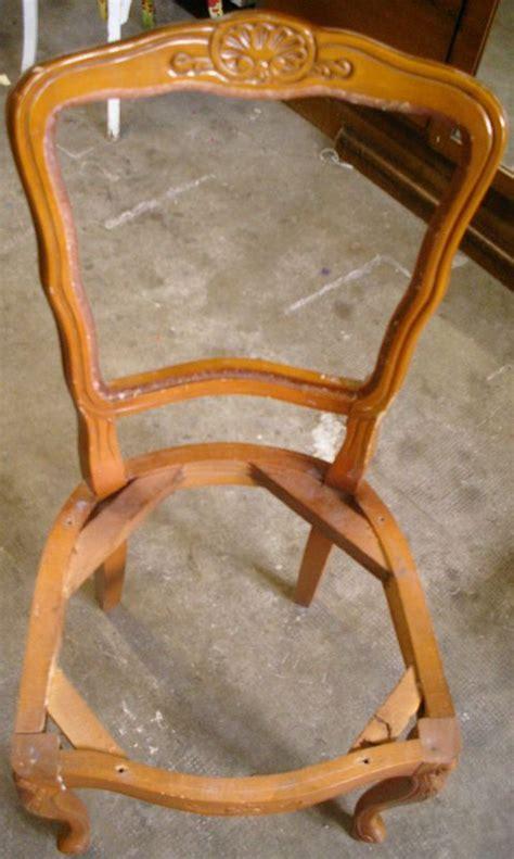 chaise ayant besoin d une nouvelle assise les cr 233 ations de lilas