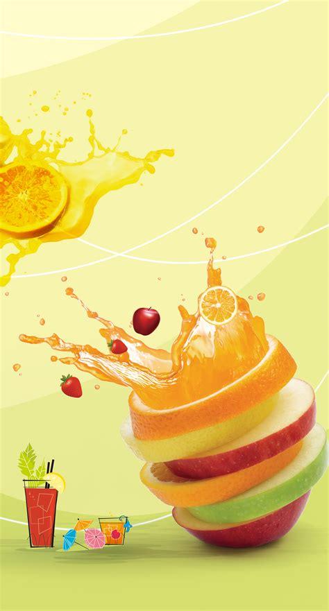 juice poster background orange juice fruit background