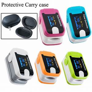 High Quality Big Promotion 10pcs Fingertip Digital Pulse Oximeter Spo2 And Pulse Rate Monitor