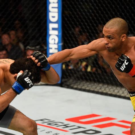 That's a tough one but i think zombie gets the win. UFC on Fox 20 Results: Edson Barboza Proves He's More Than Just a Highlight Reel | Bleacher ...