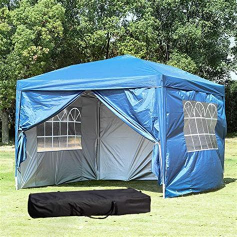 ft outdoor party tent portable carrying casebag easy ez pop  canopy  removable