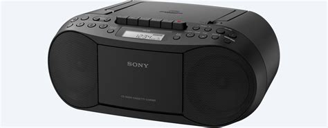 Rd Ijo Bpom sony cfds70blk sony cd cassette boom box with radio