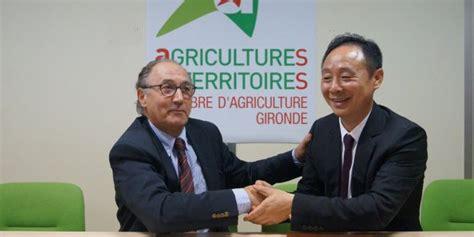chambre agriculture 58 l 39 association viticole franco chinoise lancée