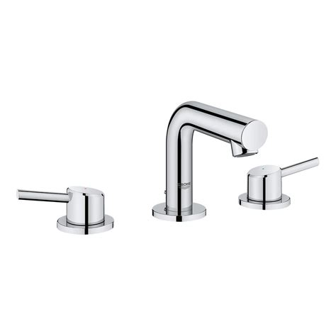 grohe kitchen sink faucets grohe concetto 8 in widespread 2 handle mid arc bathroom