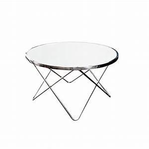 Glastisch Rund 50 Cm : design couchtisch orbit 85 cm chrom wei beistelltisch tisch wohnzimmertisch rund glastisch ~ Indierocktalk.com Haus und Dekorationen
