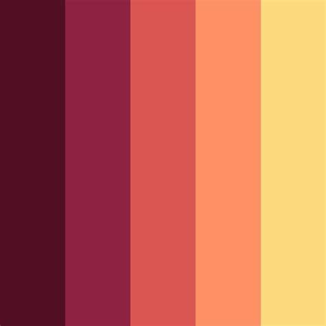 flat color flat ui color swatches aco autumn edition web3canvas