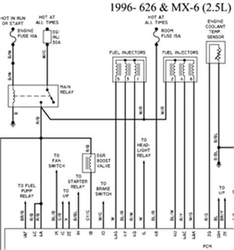 Mazda Distributor Wiring Diagram