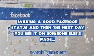 Most Popular Facebook Status Quotes, Quotations & Sayings 2018