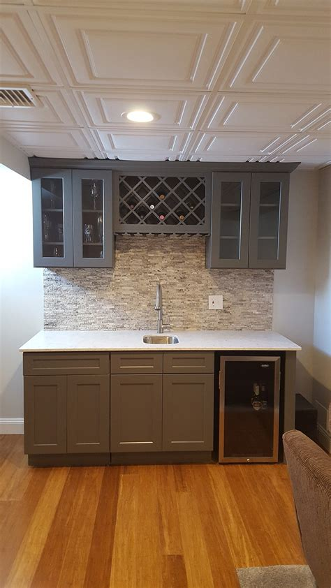 buy shaker gray rta ready  assemble kitchen cabinets