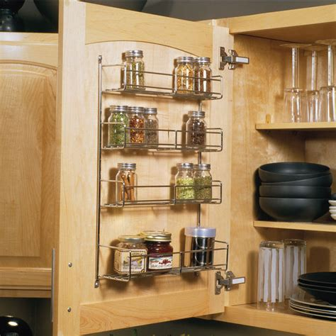 Spice Rack Door Mounted by Spice Racks Door Mount Spice Racks Available In 3