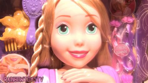Disney Princess Rapunzel Deluxe Styling Head With Hair