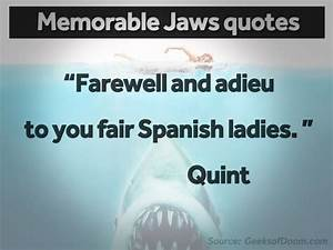 Jaws Movie Quot... Memorable Occasions Quotes