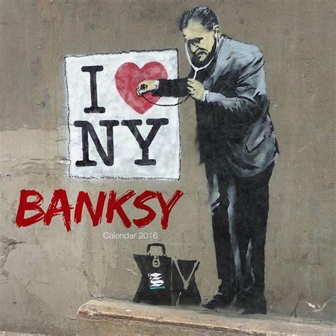 banksy street art calendars ukposterseuroposters