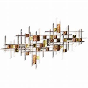Well Made Modern Metal Wall Art Decor ~ Popular Home
