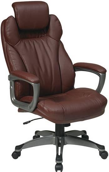 headrest office chair executive eco leather office chair