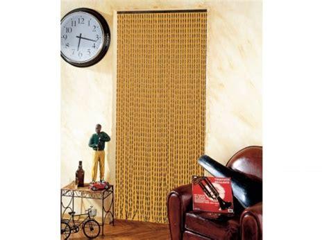 rideau de porte moustiquaire en perles de bois    cm