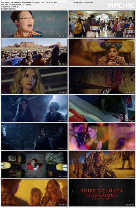 The Babysitter: Killer Queen 2020 Hindi ORG Dual Audio ...