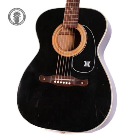 1971 Harmony H164 Black > Guitars Electric Solid Body ...