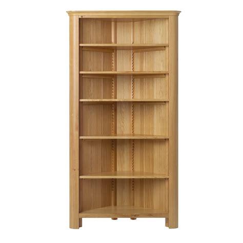 Wood Corner Bookshelf by 15 Inspirations Of Free Standing Shelving Units Wood