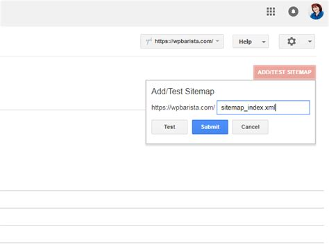 Create A Sitemap & Submit To Google  Wpbarista Blogging