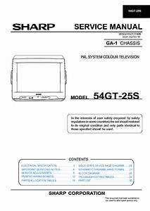 Sharp Lc37d44u Sm Service Manual Download  Schematics  Eeprom  Repair Info For Electronics Experts