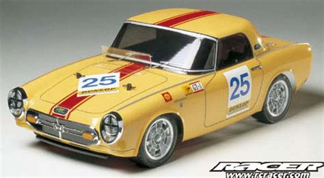 Tamiya Fair Special  110 Rc Honda S800 Racing Rc