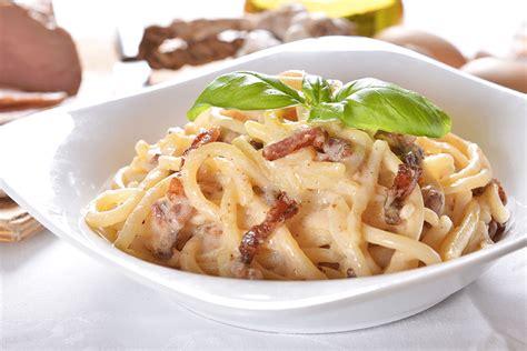 recette de cuisine italienne traditionnelle pâte à la carbonara grands mamans com