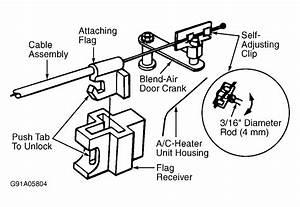 How To Replace 1997 Dodge Dakota Blend Door Actuator
