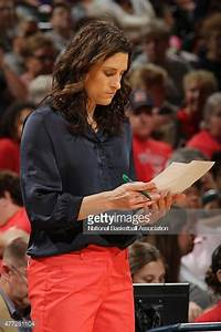 Head Coach Stephanie White of the Indiana Fever looks on ...