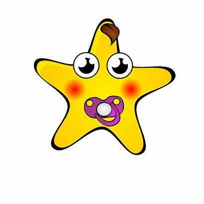 Star Cartoon Clipart Starry Night Drawing Clip