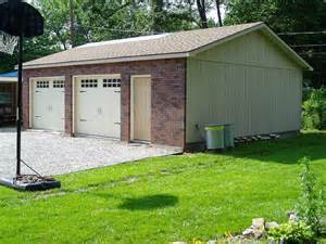 24x30 brick front garage made by tuff shed tuff shed garages photos bricks and