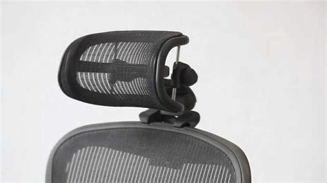 Herman Miller Celle Chair Headrest by Positioning Headrest For Herman Miller Aeron Chair