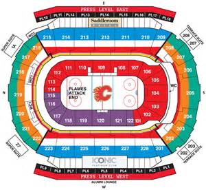 building floor plan welcome to the scotiabank saddledome