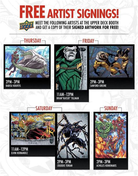 Deck The 2012 Lineup Times by 2012 San Diego Comic Con Trading Card Guide