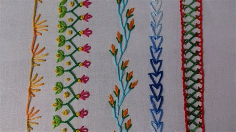 embroidery stitches hand embroidery embroidery stitches tutorial for beginners part 2 decorative stitches youtube