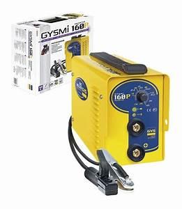 Poste à Souder Inverter : poste souder gys l lectrode inverter gysmi 160p ~ Edinachiropracticcenter.com Idées de Décoration