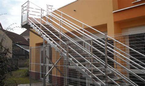 escalier sur mesure en acier ou alu en alsace echamat kernst