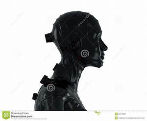 Cool Robot In Profile Stock Photos - Image: 22419033