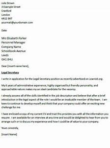 Legal secretary cover letter example icoverorguk for Cover letter for legal secretary position