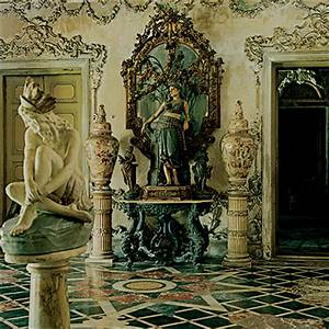 Saffronart :: Derry Moore : Interior, Marble Palace, Calcutta