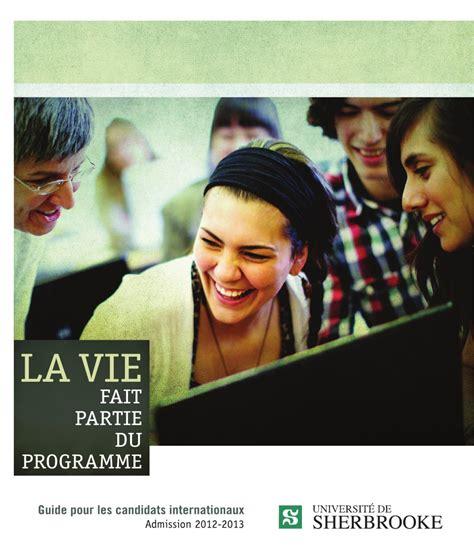 bureau d 騁udes environnement guide pour les candidats internationaux by université de sherbrooke issuu