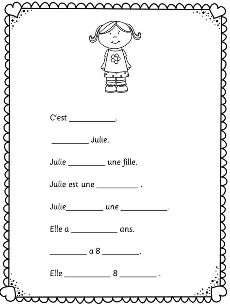 french c est la rentr 233 e easy worksheets for learners of
