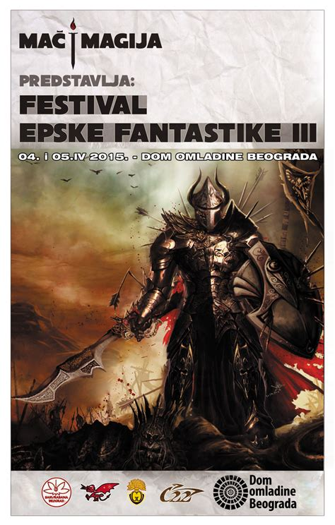 3. FESTIVAL EPSKE FANTASTIKE | Dom omladine Beograda