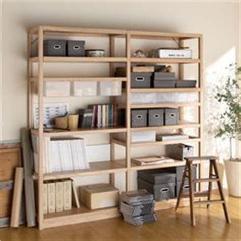 bureau muji muji storage shelves rangement rangement