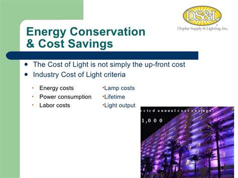 led lighting presentation