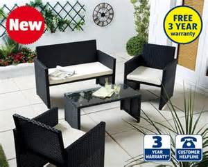 rattan effect furniture set aldi thursday 19th 163 149 99 hotukdeals