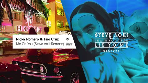 Steve Aoki & Nicky Romero Remix Each Other For New Music