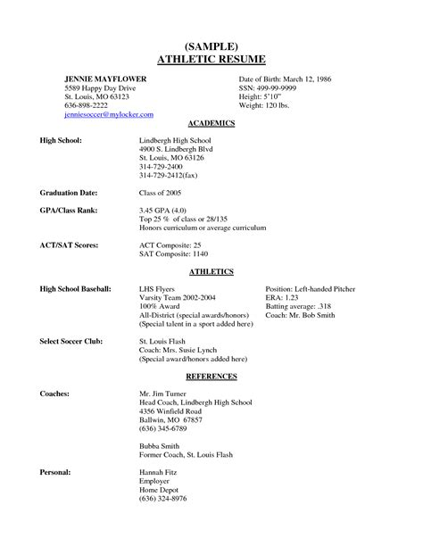high resume template for college 100 images resume