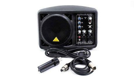 behringer eurolive active pa monitor speaker b205d walmart canada